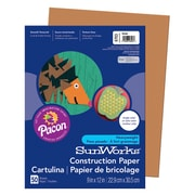 "Pacon® SunWorks® Construction Paper, 9"" x 12"", 50 Sheets/Pack"