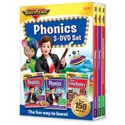 Rock 'N Learn® Phonics 3-DVD Set (RL-317)
