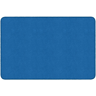 Flagship Carpets Americolours Rectangle Rug, Royal Blue, 4' x 6' (AS-22RB)