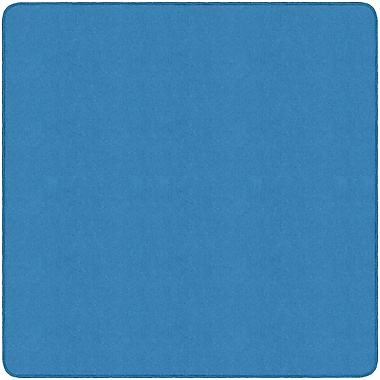 Flagship Carpets Americolours Square Rug, Blue Bird, 6' x 6' (AS-26BB)