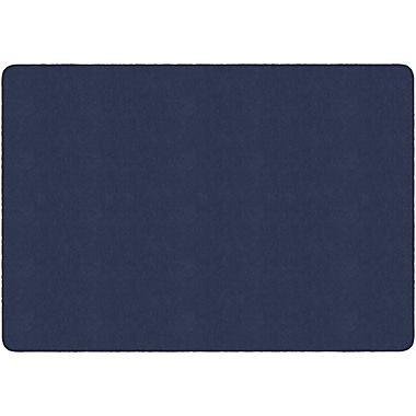 Flagship Carpets Americolours Rectangle Rug, Navy, 6' x 9' (AS-34NY)