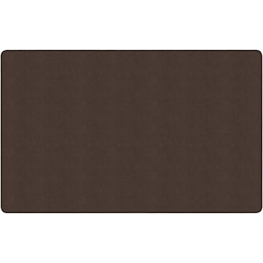 Flagship Carpets Americolours Rectangle Rug, Chocolate, 7.6' x 12' (AS-44CH)