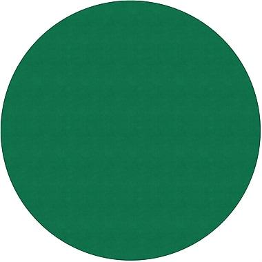 Flagship Carpets Americolours Round Rug, Clover Green, 12' x 12' (AS-71CG)