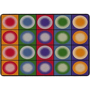 Flagship Carpets Dot Spots Rug, 6' x 8.4' (FE118-32A)