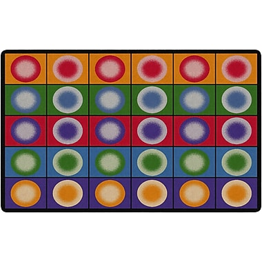 Flagship Carpets Dot Spots Rug, 7.6' x 12' (FE118-44A)
