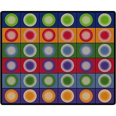 Flagship Carpets Dot Spots Rug, 10.9' x 13.2' (FE118-58A)