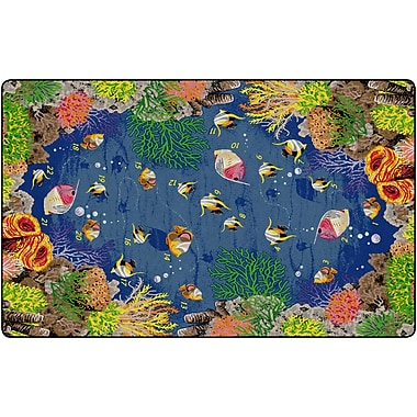 Flagship Carpets Underwater Counting Rug, 7.6' x 12' (FE130-44A)