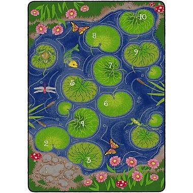 Flagship Carpets Hopscotch Pond Rug, 6' x 9' (FE138-34A)