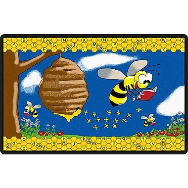 Flagship Carpets Busy Bee Rug, 10.9' x 13.2' (FE140-58A)