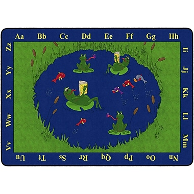 Flagship Carpets Frogs Rug, 6' x 9' (FE142-34A)