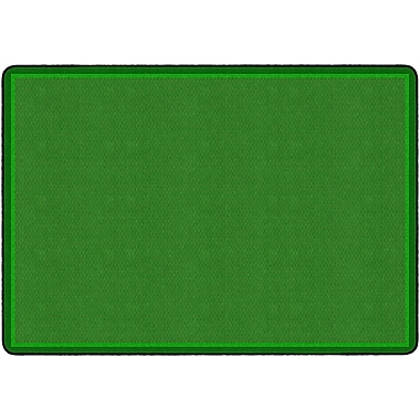 Flagship Carpets All Over Weave Rug, Green, 6' x 8.4' (FE153-32A)