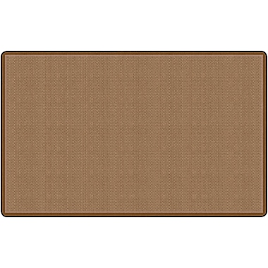 Flagship Carpets All Over Weave Rug, Tan, 7.6' x 12' (FE155-44A)