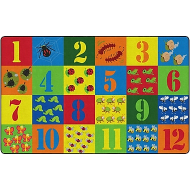 Flagship Carpets Counting Critters Rug, 7.6' x 12' (FE277-44A)