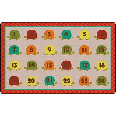 Flagship Carpets Counting Turtles Rug, 7.6' x 12' (FE278-44A)