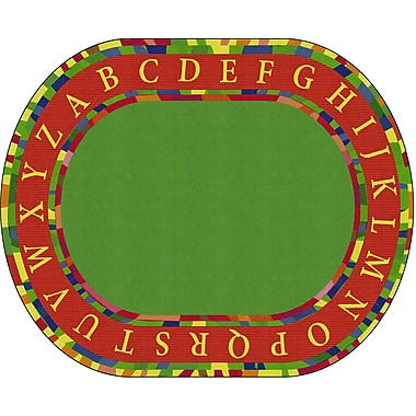 Flagship Carpets Craftsman Circle Rug, 10.9' x 13.2' (FE279-59A)