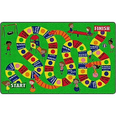 Flagship Carpets The Friendship Game Rug, 6' x 8.4' (FE283-32A)