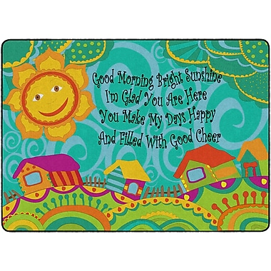 Flagship Carpets Good Morning Bright Sunshine Rug, 6' x 8.4' (FE286-32A)