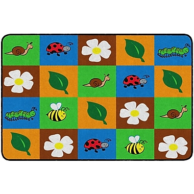 Flagship Carpets Nature Squares Rug, 4' x 6' (FE292-22A)