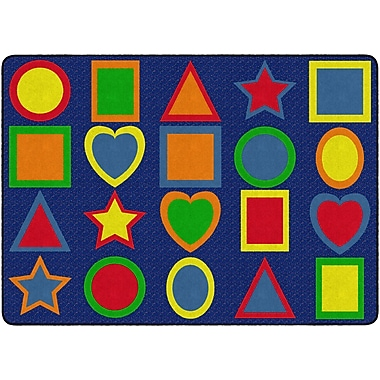 Flagship Carpets All Kinds Of Shapes Primary Rug, 6' x 8.4' (FE302-32A)
