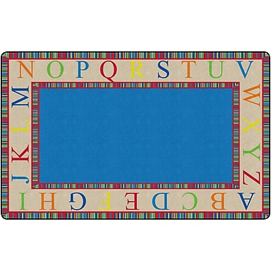 Flagship Carpets The Alphabet Rug, 7.6' x 12' (FE309-44A)
