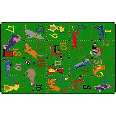 Flagship Carpets Dog Pack Rug, 7.6' x 12' (FE318-44A)
