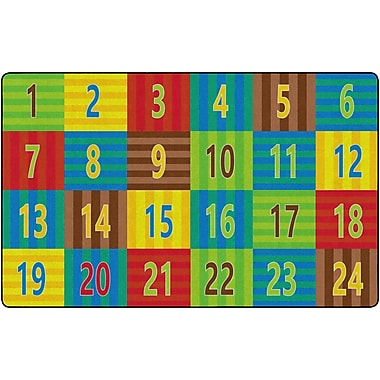 Flagship Carpets Counting Seating Rug, 7.6' x 12' (FE335-44A)