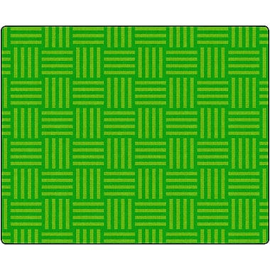 Flagship Carpets Hashtag Tone On Tone Lime Rug, 10.9' x 13.2' (FE383-58A)