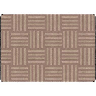 Flagship Carpets Hashtag Tone On Tone Rug, Almond, 6' x 8.4' (FE392-32A)