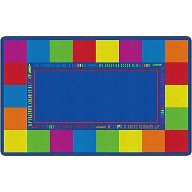 Flagship Carpets My Favorite Colour Classroom Rug Rug, 7.6' x 12' (FE401-44A)