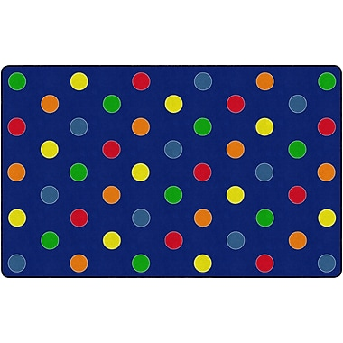 Flagship Carpets Dots Primary Rug, 7.6' x 12' (FE409-44A)