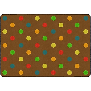 Flagship Carpets Dots Muted Rug, 6' x 8.4' (FE410-32A)