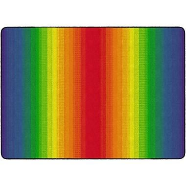 Flagship Carpets Rainbow Rectangle Rug, 6' x 8.4' (FE416-32A)