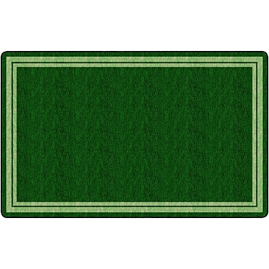 Flagship Carpets Double Border Clover Rug, 7.6' x 12' (FE426-44A)