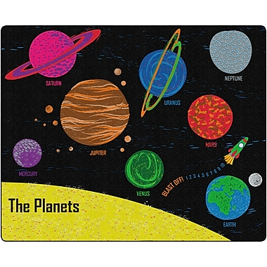 Flagship Carpets Blast Off Into Space Rug, 7.6' x 12' (FG319-44A)