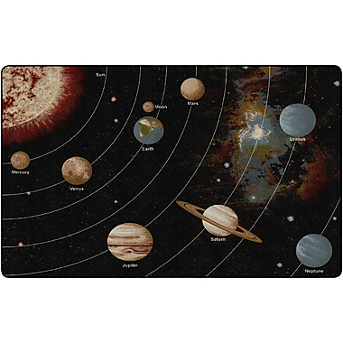 Flagship Carpets Solar System Orbit Rug, 7.6' x 12' (FM175-44A)