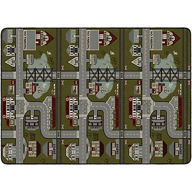 Flagship Carpets Places To Go Rug, 6' x 9' (FM178-34A)