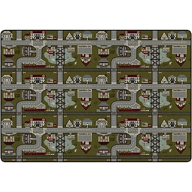 Flagship Carpets Places To Go Rug, 9' x 12' (FM178-51A)