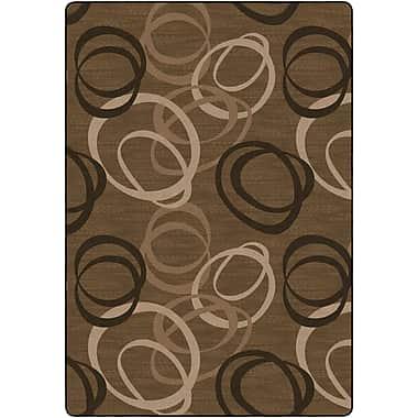 Flagship Carpets Duo Chocolate Rug, Tan, 8.4' x 12' (FM199-50A)