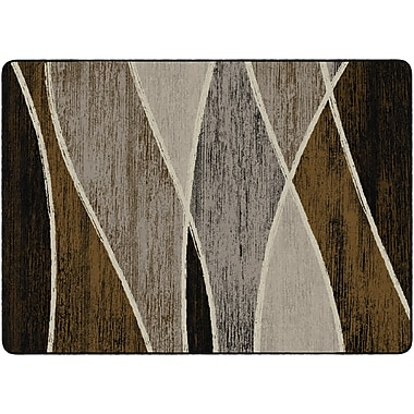 Flagship Carpets Waterford Rug, Chocolate, 6' x 9' (SM224-34A)