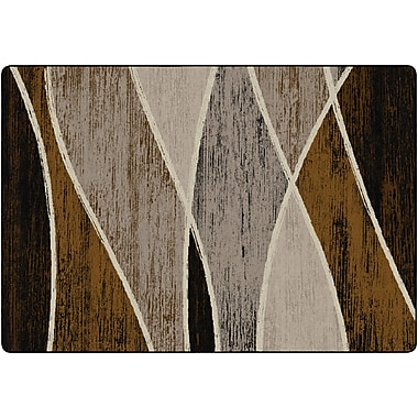 Flagship Carpets Waterford Rug, Chocolate, 8.4' x 12' (SM224-50A)