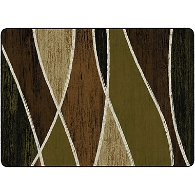 Flagship Carpets Waterford Rug, Green, 6' x 9' (SM226-34A)