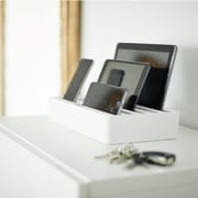 Alldock Large Shell with Top, 6 x USB 2.4 Docking Station, White + 3 x MFi OHD Cables