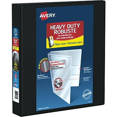 Avery® Heavy Duty View Binder, 1-1/2