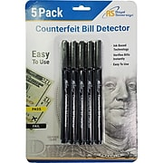 Royal Sovereign 5 Pack of Counterfeit Pens