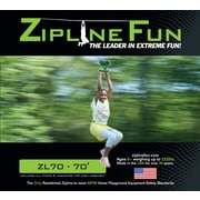 Adventure Parks – Câble galvanisé de qualité aéronautique pour tyrolienne ZI70 de 70 pi