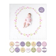 Lulujo Baby's 1st Year, Isn't She Lovely Blanket and Card Set