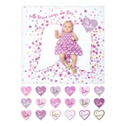 Lulujo Deluxe Baby's 1st Year, With Brave Wings Blanket and Card Set