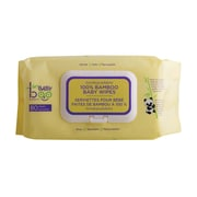 Baby Boo Bamboo, Bamboo Wipes 80 count, 2/Pack