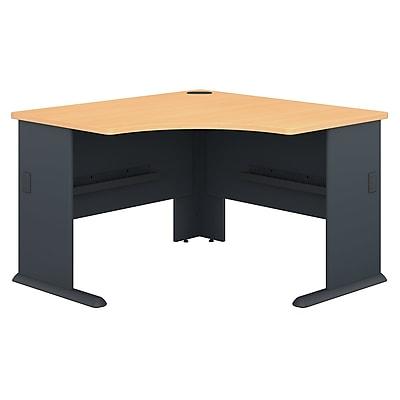 Bush Business Furniture Cubix 48W Corner Desk, Beech (WC14366)
