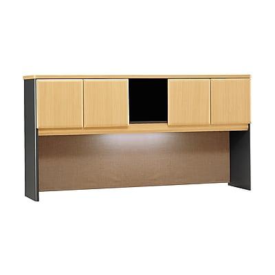 Bush Business Furniture Cubix 72W Hutch, Beech (WC14373P)